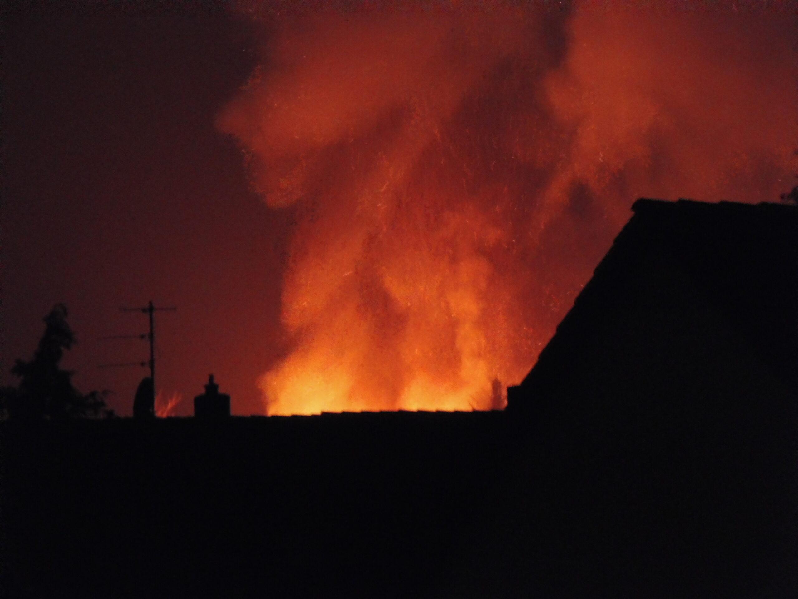 Brandkatastrophe Großgründlach